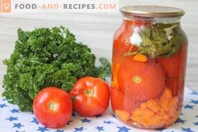 Кисела домати со моркови