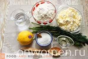 Kutabs med ost och örter