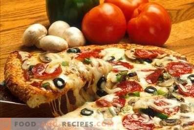 Vid vilken temperatur att baka pizza