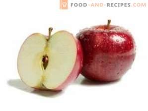 Hur man rengör äpplen från vax