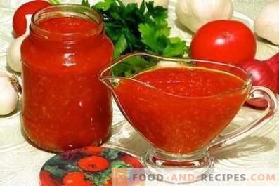 Tomatås för vintern