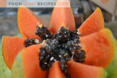 Hur man äter papaya