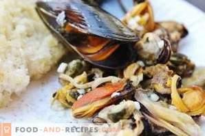 Hur man lagrar musslor