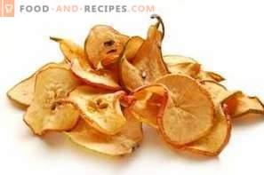Cómo secar peras en casa