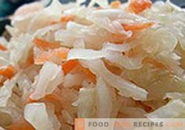 Was tun, wenn gesalzenes Sauerkraut